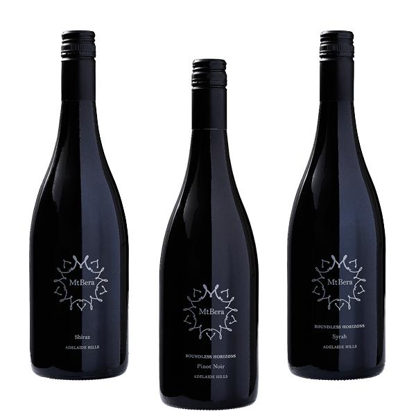 Mt Bera Vineyards Burgundy Bottle Selections